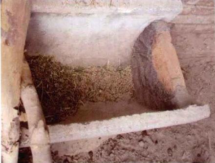 犊牛补饲颗粒料和苜蓿干草